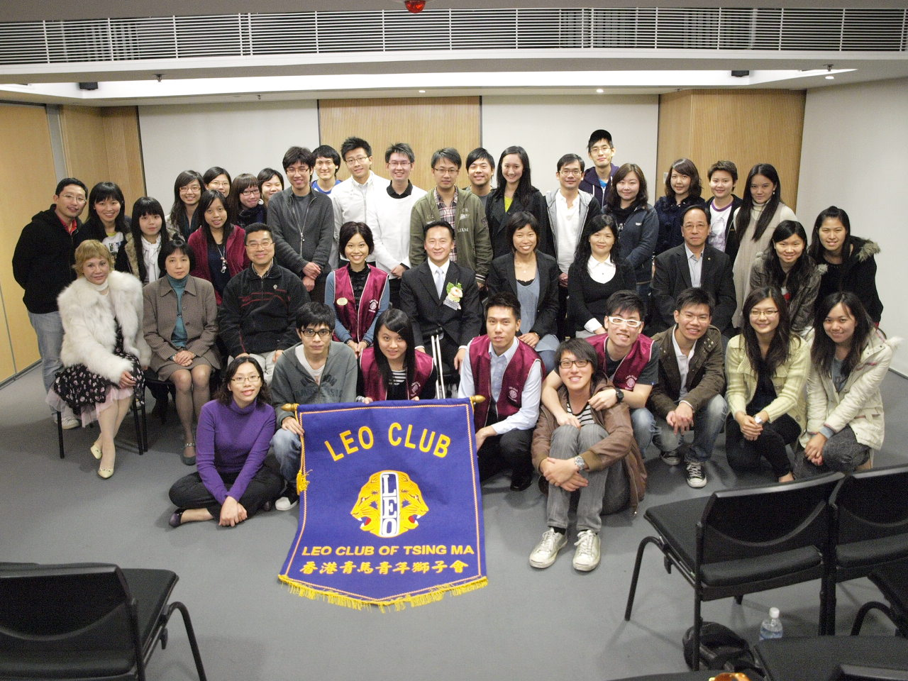 Training for Lion Clubs